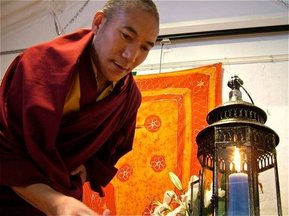 Chamtrul Lobsang Gyatso Rinpoche  / The Glastonbury Unity Candle